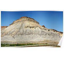 Mt. Garfield, Colorado Poster