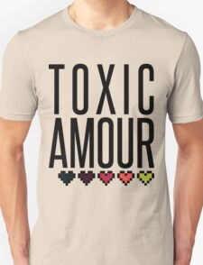 Toxic Amour | Pixel Hearts Unisex T-Shirt