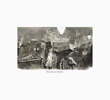 Billingsgate Fish Market, London, England in 19th Century Unisex T-Shirt