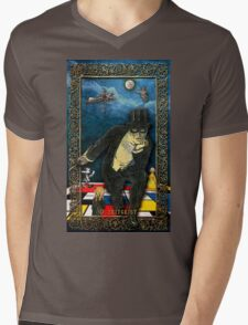 The Zeitgeist - from TINKER'S DAMN TAROT Mens V-Neck T-Shirt