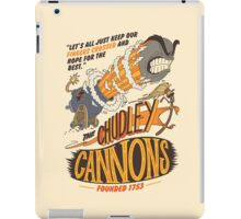The Chudley Cannons iPad Case/Skin