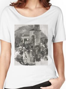 Covent Garden Market, London, England in the 19th Century Women's Relaxed Fit T-Shirt