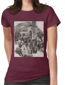 Covent Garden Market, London, England in the 19th Century Womens Fitted T-Shirt