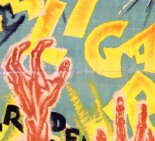 Rare Caligari Poster  Sticker