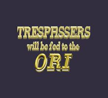 Trespassers Will Be Fed to the Ori - Dark Backgrounds Classic T-Shirt