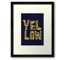 141434 Framed Print