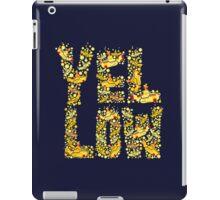 Yellow - the beatles iPad Case/Skin