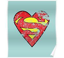 I Love Super man Poster