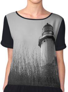 Montauk Lighthouse Chiffon Top