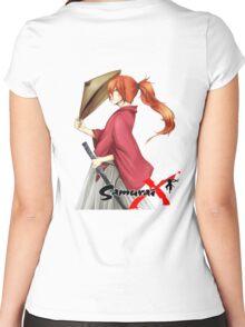 Samurai X Women's Fitted Scoop T-Shirt