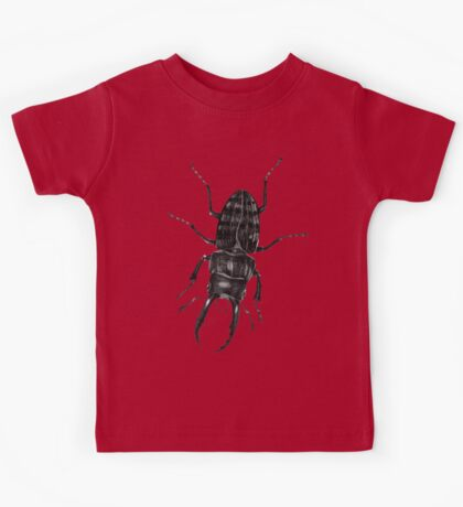 Flying Victorian Insect Beetles Bug Kids Tee