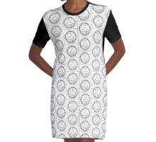 The Night Court Graphic T-Shirt Dress