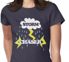Storm Chaser Womens Fitted T-Shirt