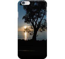 Clear Lake Sunset iPhone Case/Skin