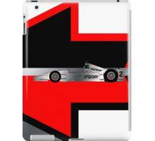 Juan Pablo Montoya (2016 Indy 500) iPad Case/Skin