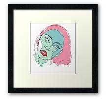 sweetie little jean Framed Print