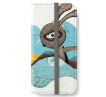 Surfing Waves Swirls iPhone Wallet/Case/Skin