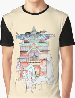 Studio Ghibli - Spirited Away Graphic T-Shirt