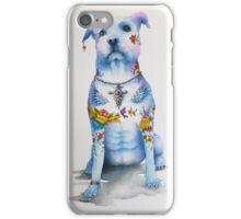 Pit Bull Tattoo Dog iPhone Case/Skin