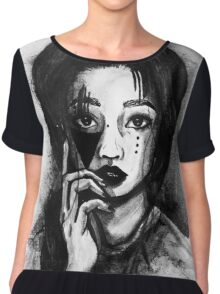 Portrait of a girl Chiffon Top