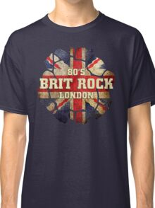 80's Brit Rock London Classic T-Shirt