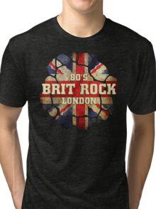 80's Brit Rock London Tri-blend T-Shirt
