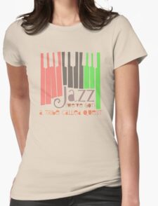 a tribe called quest - jazz Womens Fitted T-Shirt