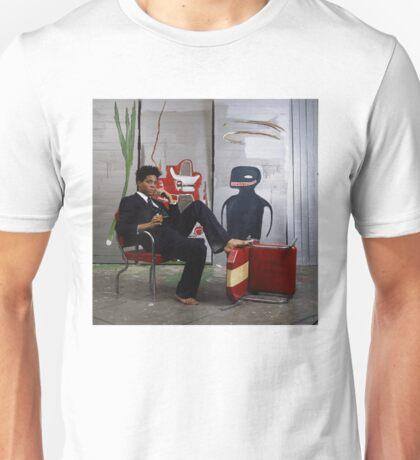 Jean-Michael Baquiat photograph  Unisex T-Shirt