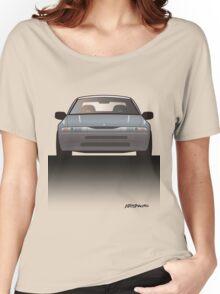 Modern Japanese Icons: Subaru Alcyone SVX (Split) Women's Relaxed Fit T-Shirt