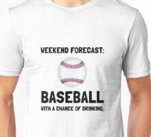Weekend Forecast Baseball Unisex T-Shirt