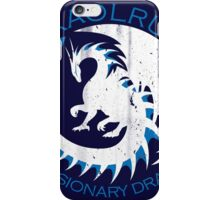 White & Blue Dragon iPhone Case/Skin