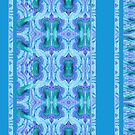 Blue Decorative Strips by CarolM