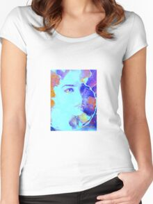 Spirals of life  Women's Fitted Scoop T-Shirt