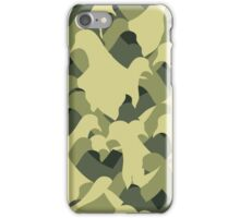 Pigeon Camouflage iPhone Case/Skin