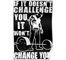 Challenge and Change Poster