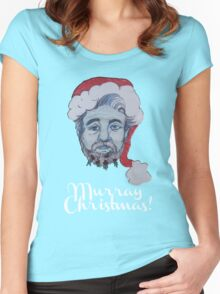 Murray Christmas! Women's Fitted Scoop T-Shirt
