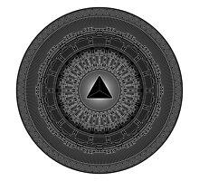 """""""Tetrahedron"""" Photographic Print"""