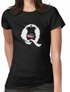 HISTORY -  'Queen' Logo Womens Fitted T-Shirt