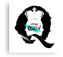 HISTORY - 'Queen' Logo Inverted Canvas Print