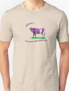 The Purple Cow Unisex T-Shirt