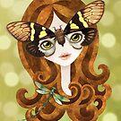 Gaeana Cicada Girl by sandygrafik