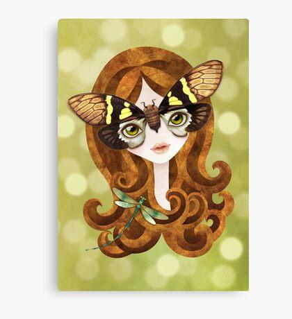 Gaeana Cicada Girl Canvas Print