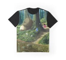 Totoro and Mei Graphic T-Shirt