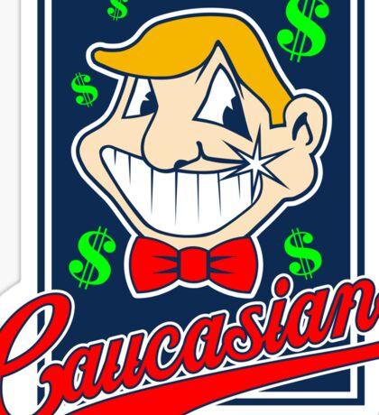 Caucasians Baseball Team Sticker