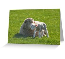 one small step for a lamb Greeting Card