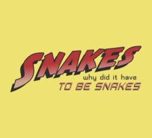 Snakes-Why Did It Have To Be Snakes One Piece - Short Sleeve