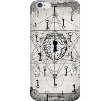 Keys to the subconscious mind iPhone Case/Skin