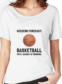 Weekend Forecast Basketball Women's Relaxed Fit T-Shirt