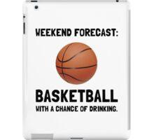 Weekend Forecast Basketball iPad Case/Skin
