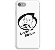 baby inside new family member will born iPhone Case/Skin